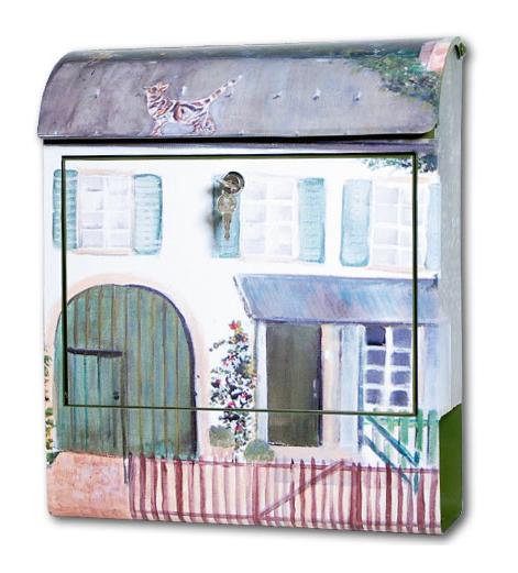 Pokke(ポッケ) 癒しの音が流れるアートメールボックス(家)